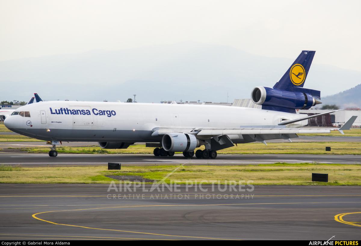 Lufthansa Cargo D-ALCK aircraft at Mexico City - Licenciado Benito Juarez Intl