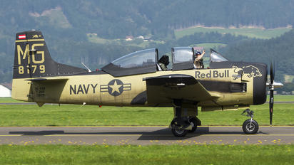 OE-ESA - Red Bull North American T-28B Trojan