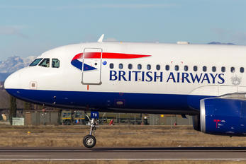 G-GATS - British Airways Airbus A320