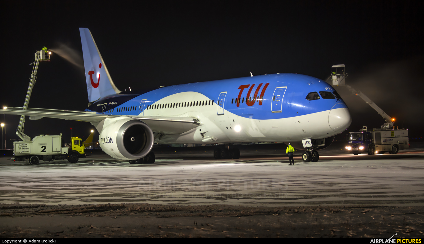 TUI Airlines Netherlands PH-TFK aircraft at Katowice - Pyrzowice