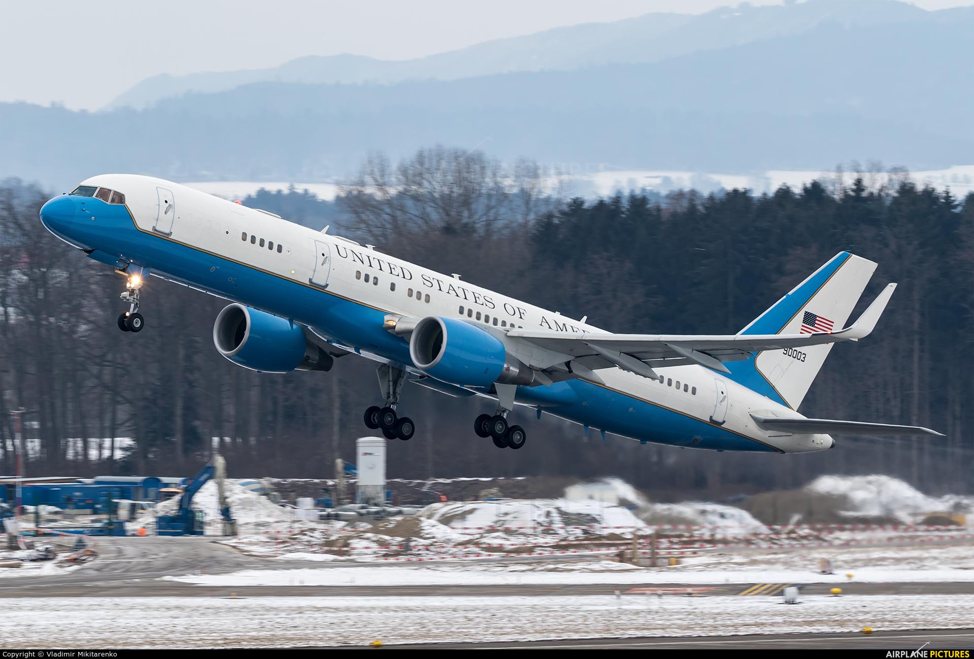 USA - Air Force 99-0003 aircraft at Zurich