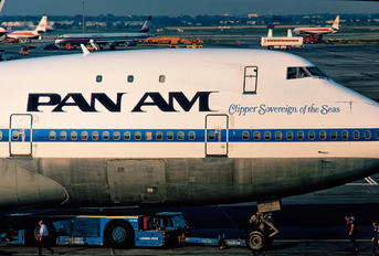 N755PA - Pan Am Boeing 747-100