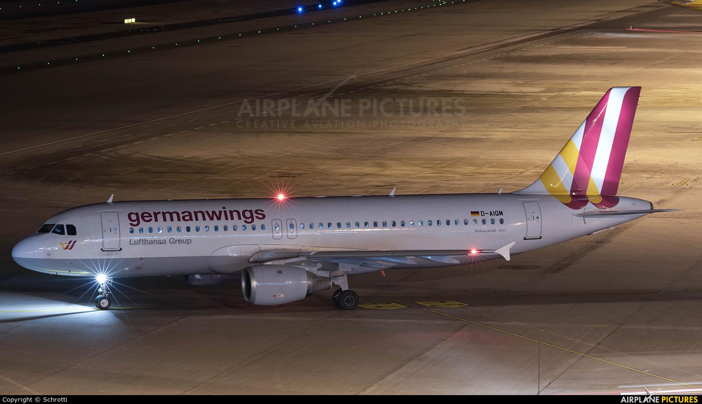 Germanwings D-AIQM aircraft at Cologne Bonn - Konrad Adenauer