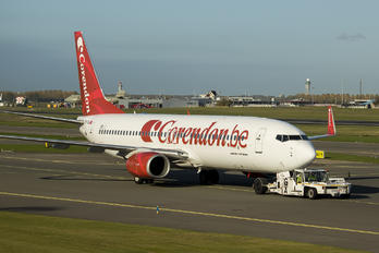 TC-TJL - Corendon Airlines Boeing 737-800