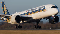 #3 Singapore Airlines Airbus A350-900 9V-SMB taken by Ian Marsh