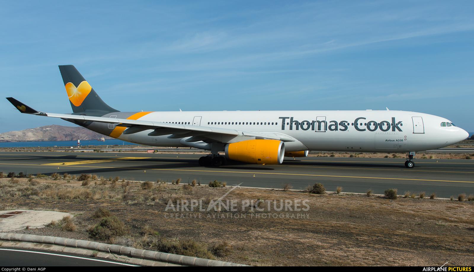 Thomas Cook Scandinavia OY-VKI aircraft at Aeropuerto de Gran Canaria