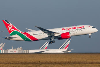 5Y-KZF - Kenya Airways Boeing 787-8 Dreamliner