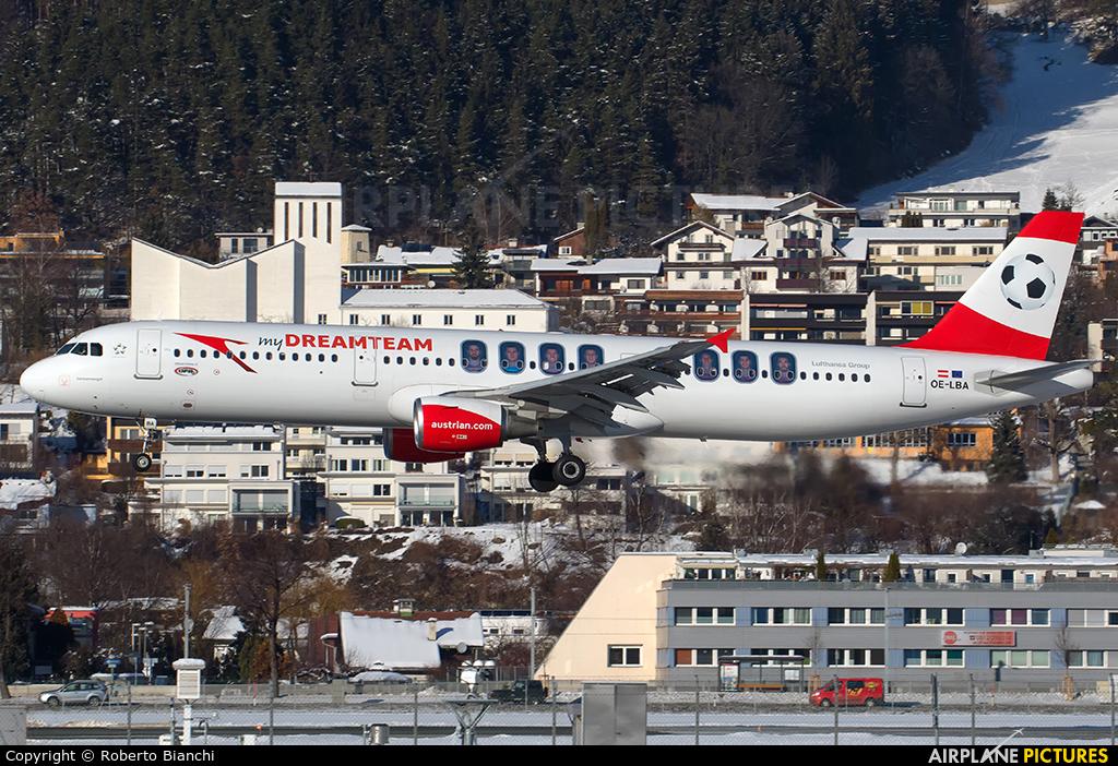Austrian Airlines/Arrows/Tyrolean OE-LBA aircraft at Innsbruck
