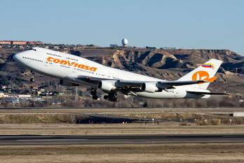 EC-KXN - Conviasa Boeing 747-400