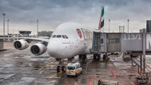 A6-EUA - Emirates Airlines Airbus A380 aircraft