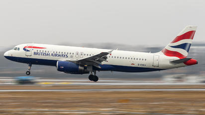G-EUUJ - British Airways Airbus A320