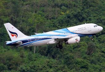 HS-PPF - Bangkok Airways Airbus A319