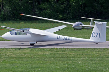 D-3643 - Private Schempp-Hirth Standard Cirrus