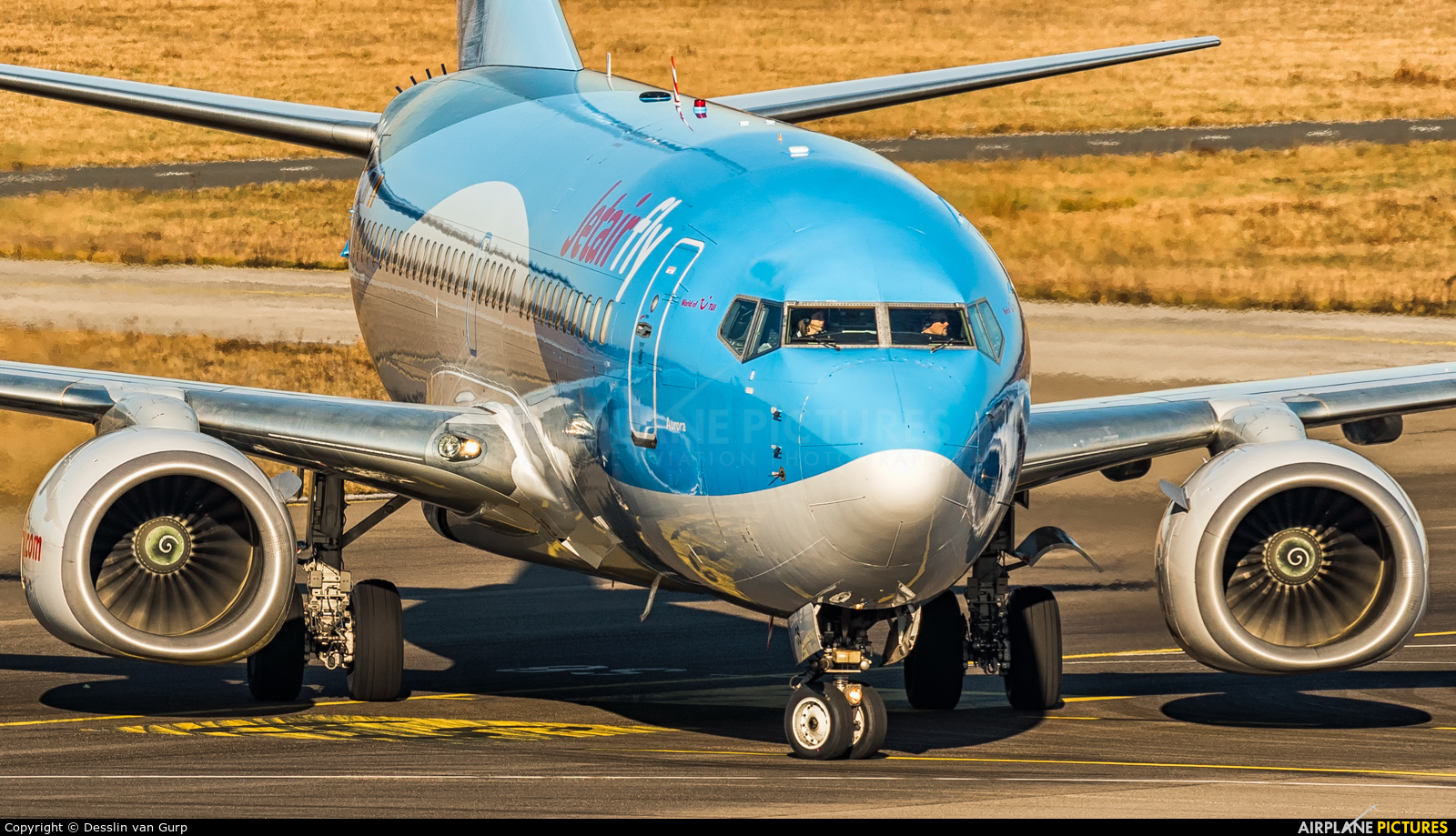 Jetairfly (TUI Airlines Belgium) OO-JOS aircraft at Eindhoven