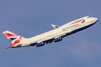 G-BYGD - British Airways Boeing 747-400