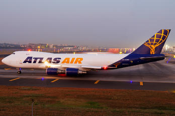 N497MC - Atlas Air Boeing 747-400F, ERF