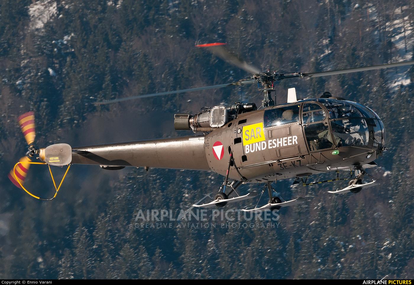 Austria - Air Force 3E-KZ aircraft at Innsbruck