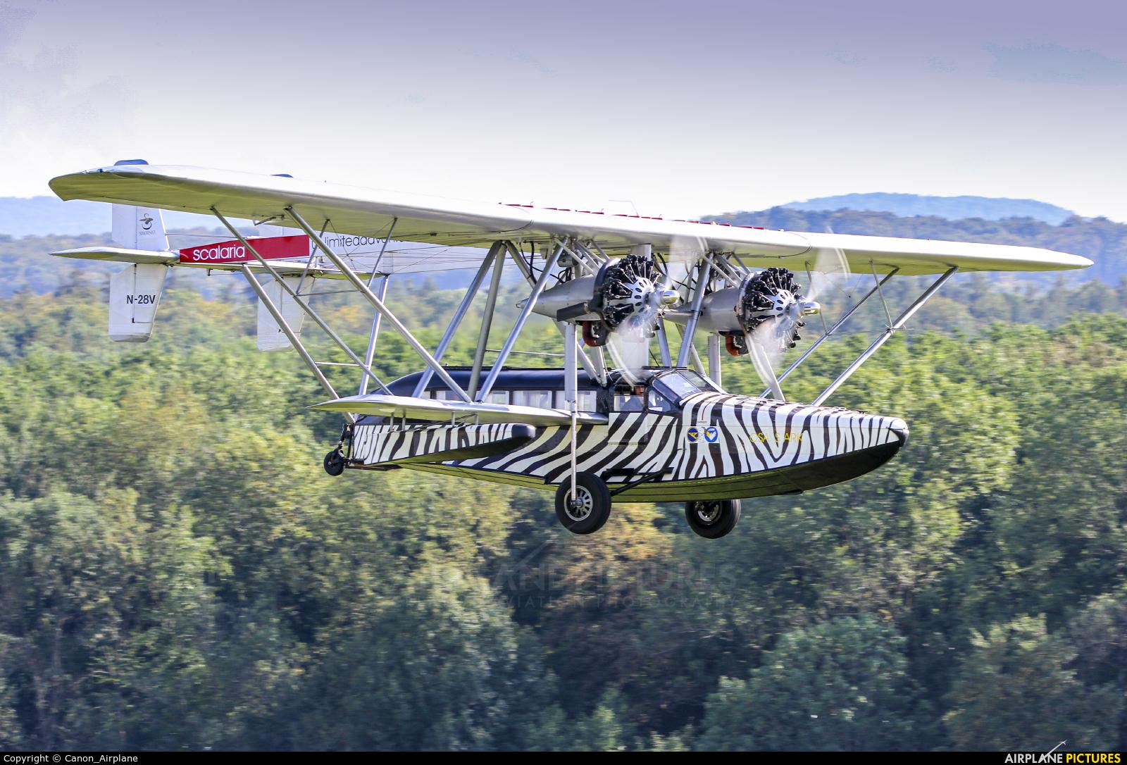 Private N28V aircraft at Hahnweide