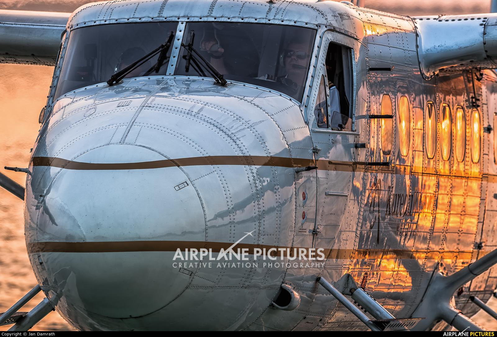 Trans Maldivian Airways - TMA 8Q-MAZ aircraft at Off Airport - Maldives