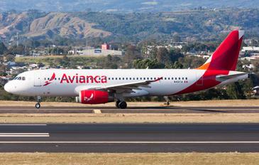 N491TA - TACA Airbus A320