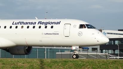 D-AEBM - Lufthansa Regional - CityLine Embraer ERJ-190 (190-100)