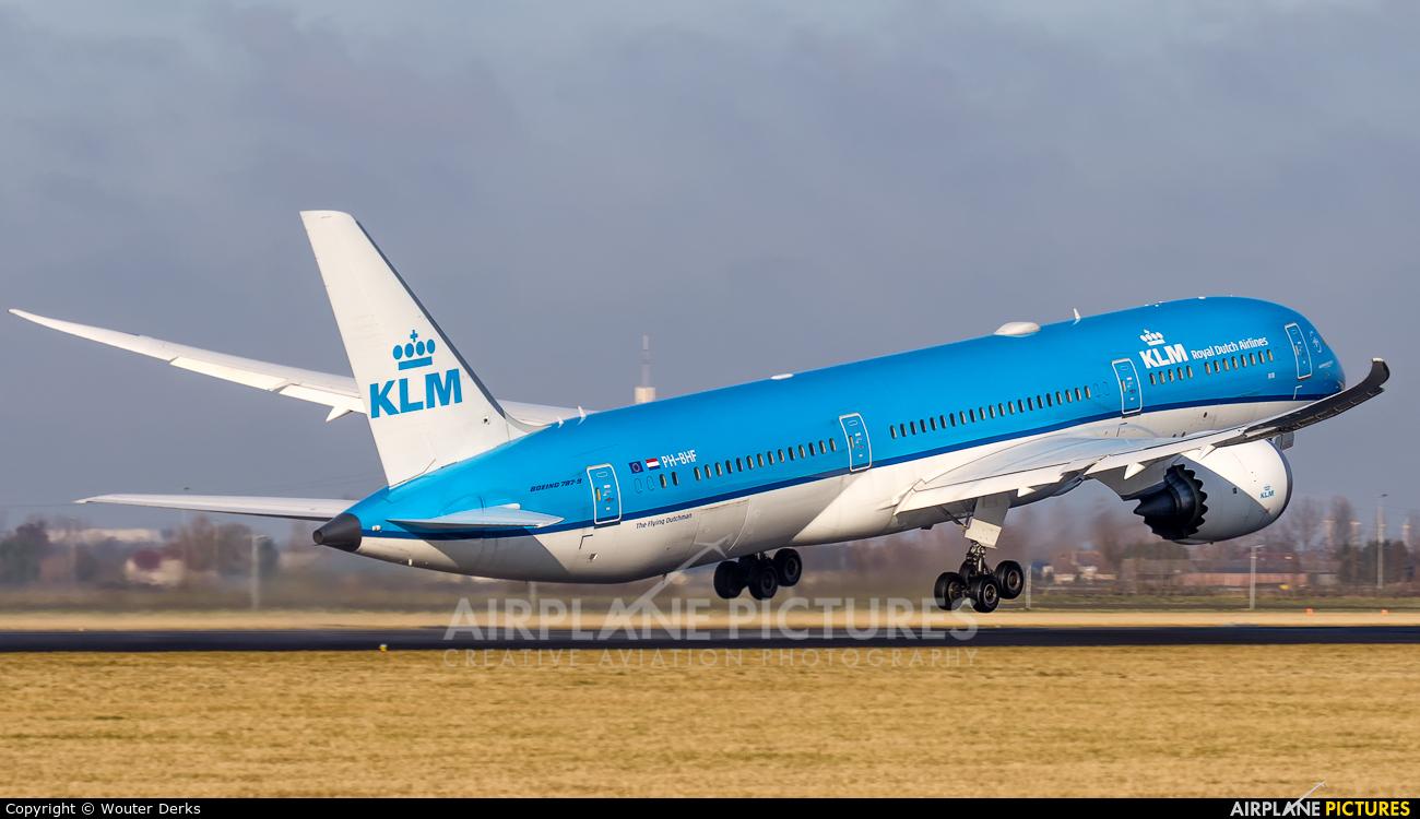 KLM PH-BHF aircraft at Amsterdam - Schiphol