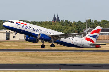 G-EUYY - British Airways Airbus A320