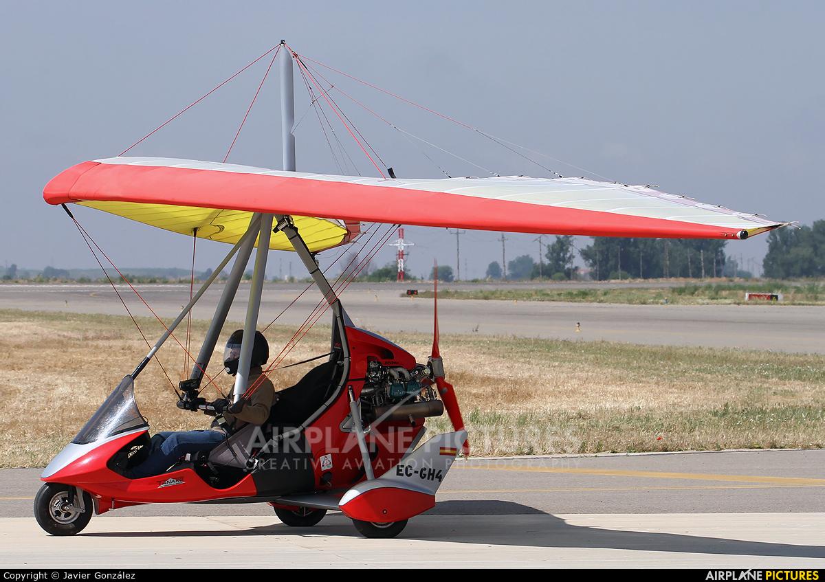 Private EC-GH4 aircraft at Lleida - Alguaire