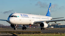 P4-OAS - Air Astana Airbus A321 aircraft