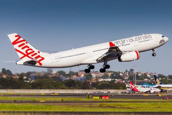VH-XFC - Virgin Australia Airbus A330-200