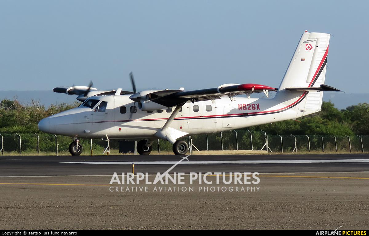 N826X  Private De Havilland Canada DHC6 Twin Otter At Cartagena  Rafael N