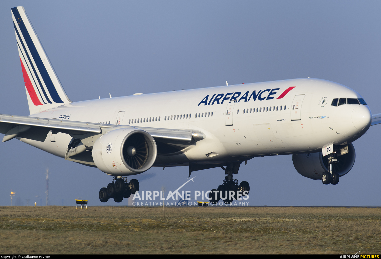 Air France F-GSPQ aircraft at Paris - Charles de Gaulle