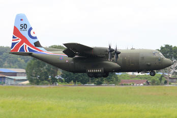 ZH883 - Royal Air Force Lockheed Hercules C.5