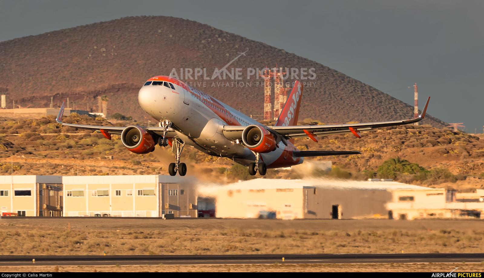 easyJet G-EZWG aircraft at Tenerife Sur - Reina Sofia