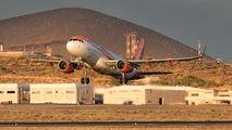 G-EZWG - easyJet Airbus A320 aircraft