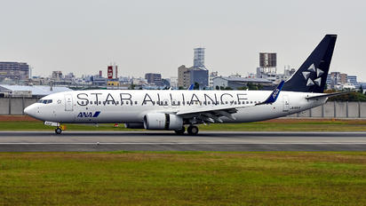 JA51AN - ANA - All Nippon Airways Boeing 737-800