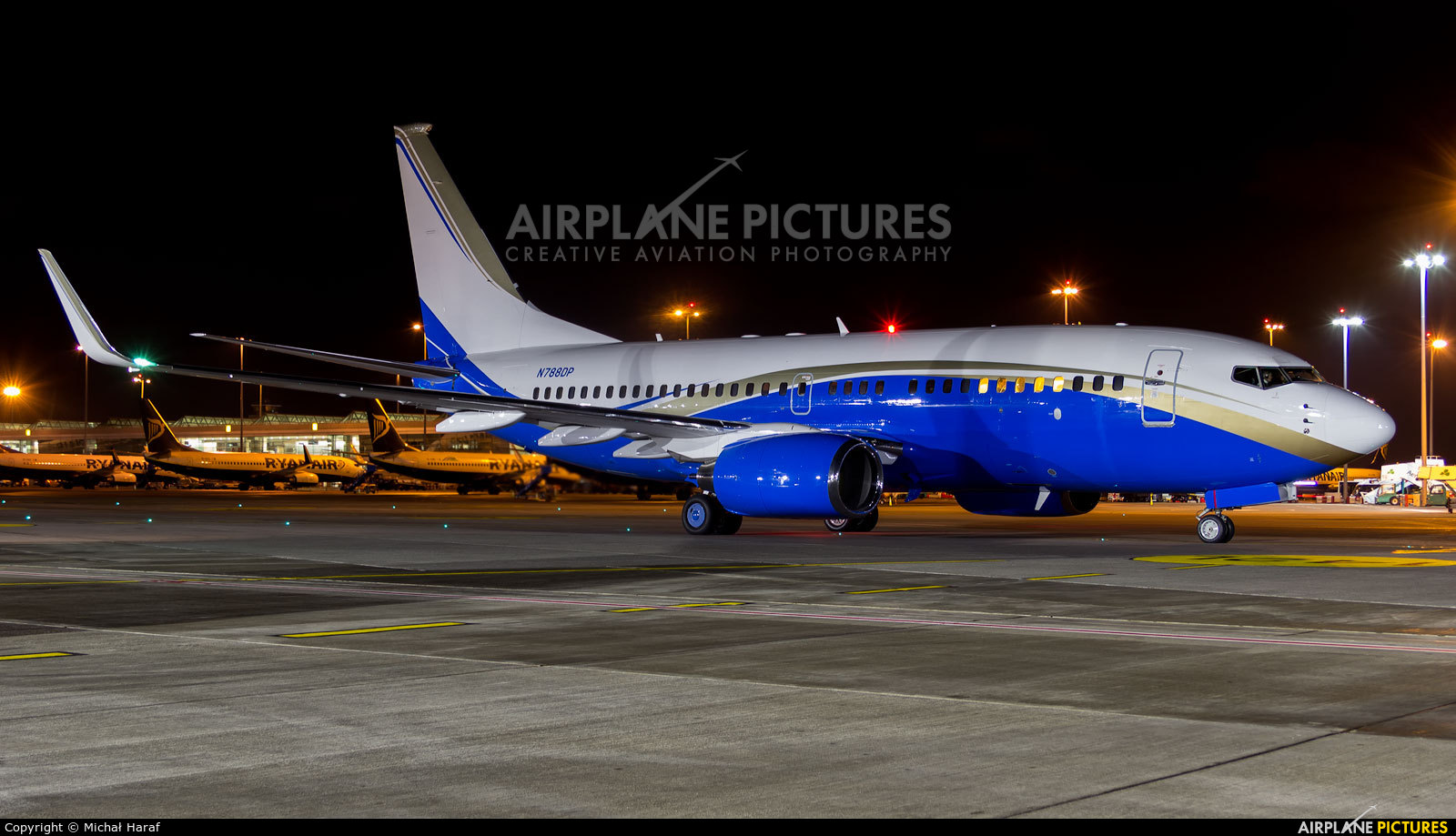 Private N788DP aircraft at Dublin