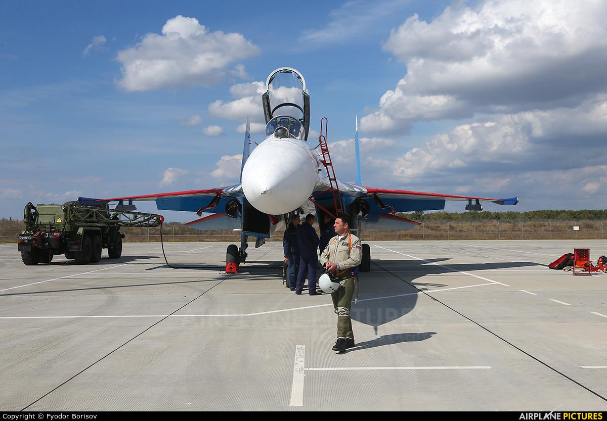 """Russia - Air Force """"Russian Knights"""" 17 aircraft at Anapa Airport"""