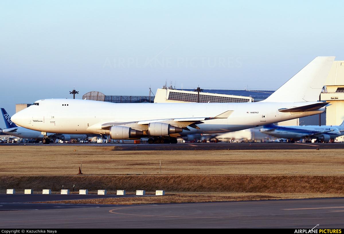 N407KZ - Atlas Air Boeing 747-400F, ERF at Tokyo - Narita