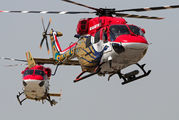J4050 - India - Air Force: Sarang Display Team Hindustan Dhruv aircraft