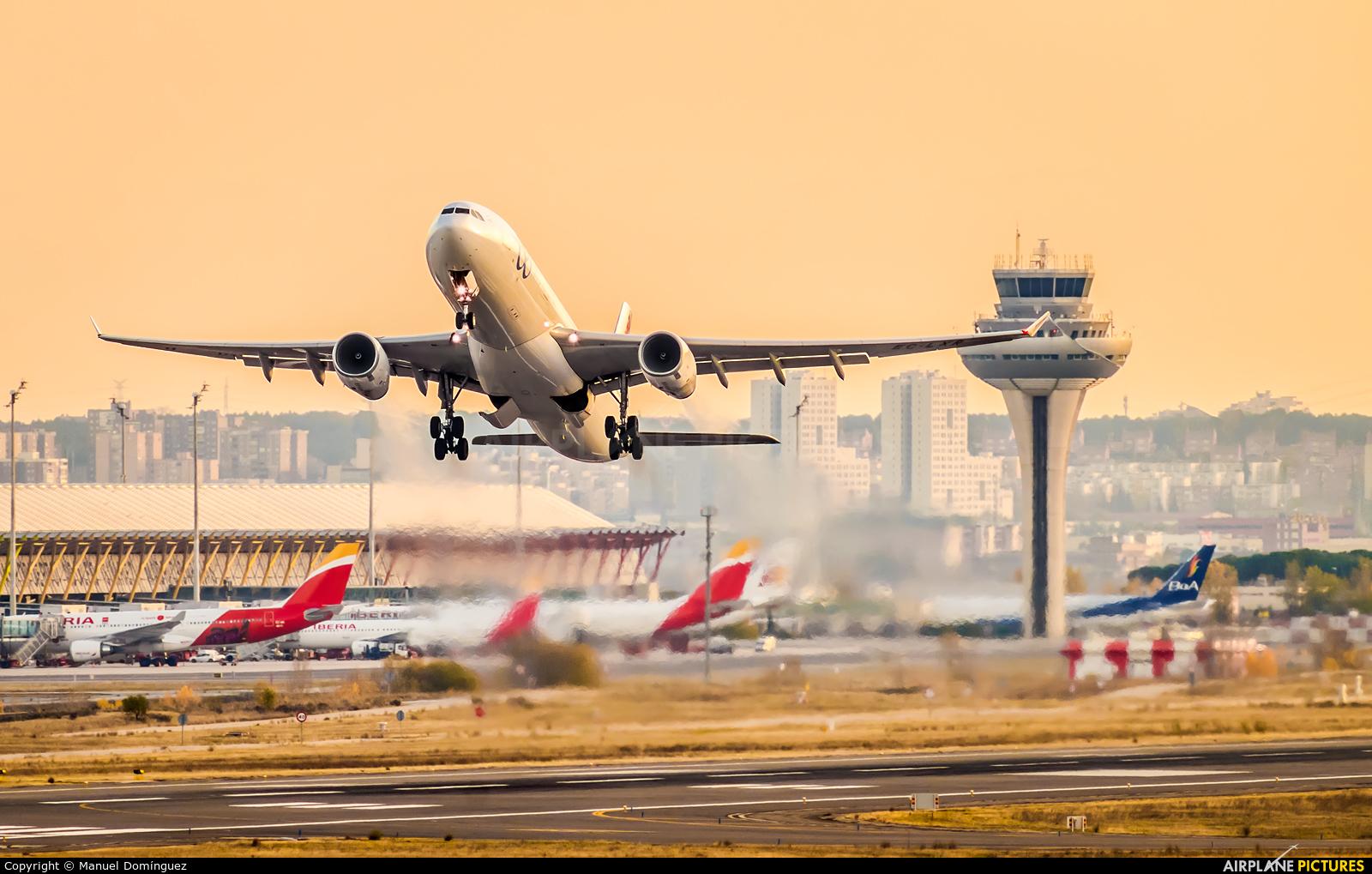 Air Europa EC-LXR aircraft at Madrid - Barajas