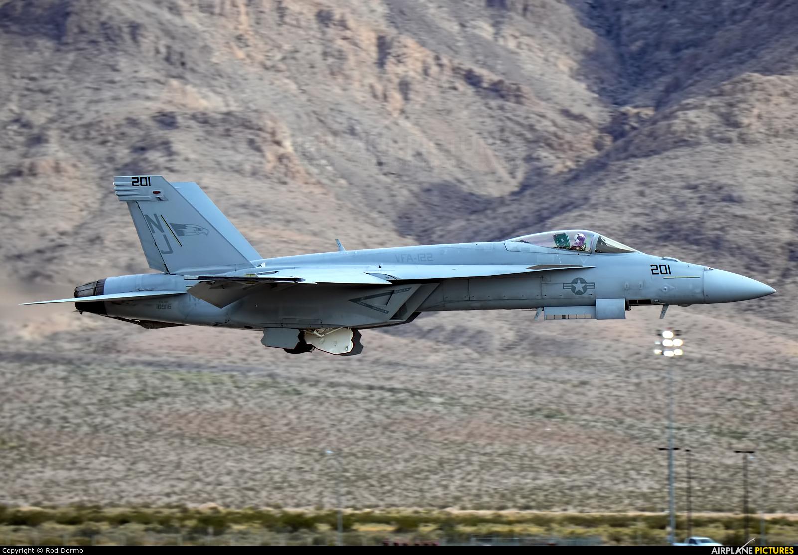 USA - Navy 169116 aircraft at Nellis AFB