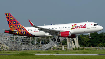 PK-LAI - Batik Air Airbus A320
