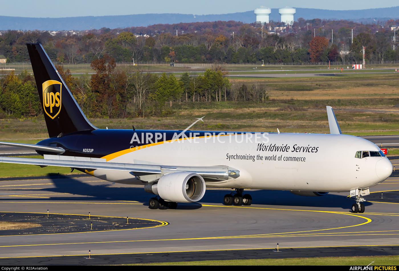 UPS - United Parcel Service N352UP aircraft at Washington - Dulles Intl