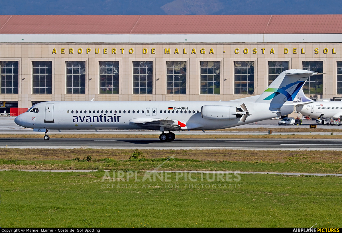 AvantiAir D-AGPH aircraft at Málaga