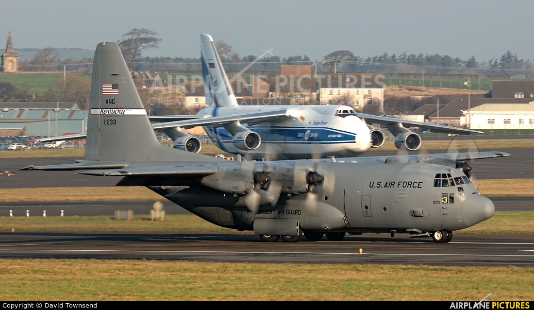 USA - Air Force 91-1233 aircraft at Prestwick