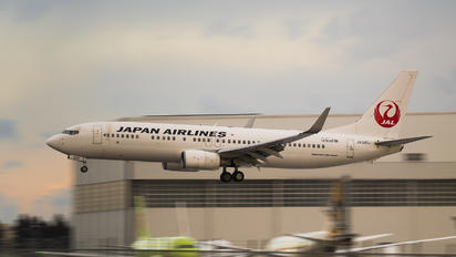 JA320J - JAL - Japan Airlines Boeing 737-800