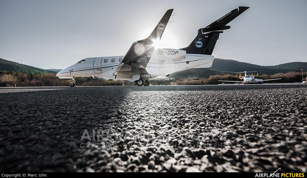 Private OE-GDP aircraft at St. Tropez - La Mole