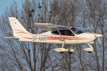 SP-AWR - Aeroklub Wroclawski Tecnam P2008