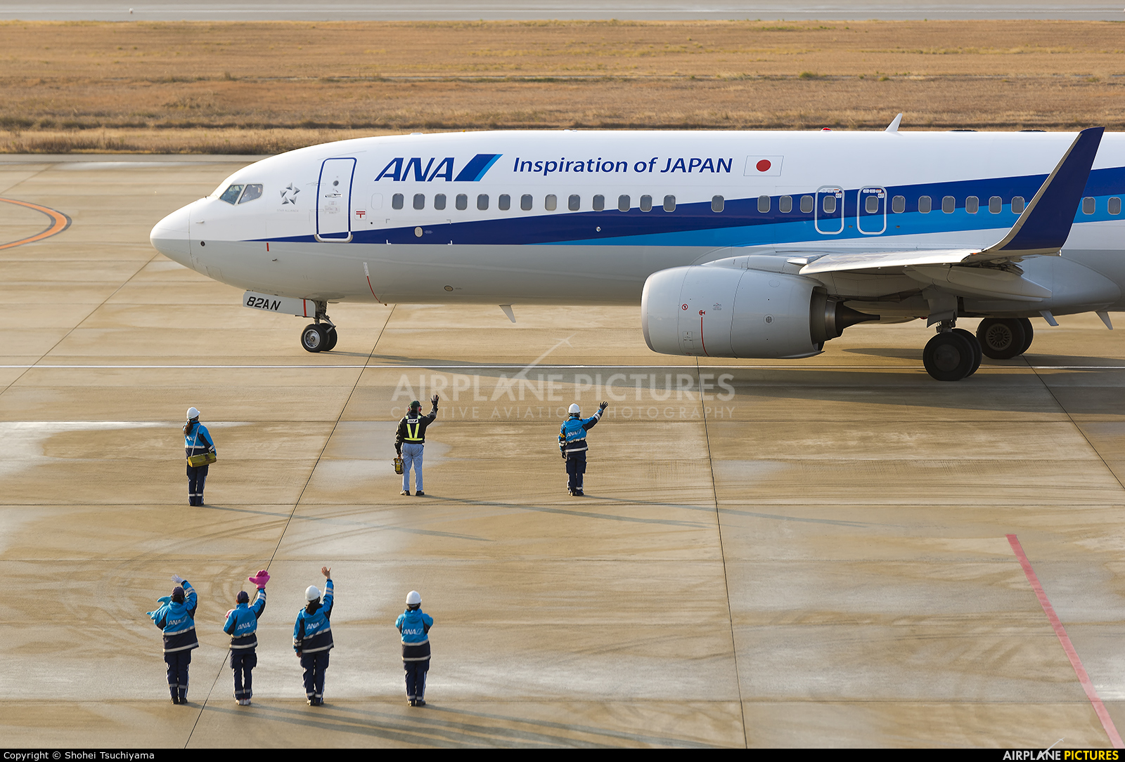 ANA - All Nippon Airways JA82AN aircraft at Kobe